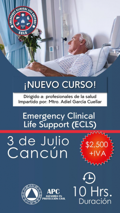 Emergency Clinical Life Support (ECLS) 3 de Julio 2021- Cancún